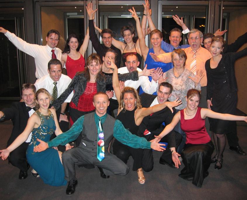 Tanzschule DanceEmotion Tanzgruppe am TCS Wingling Ball