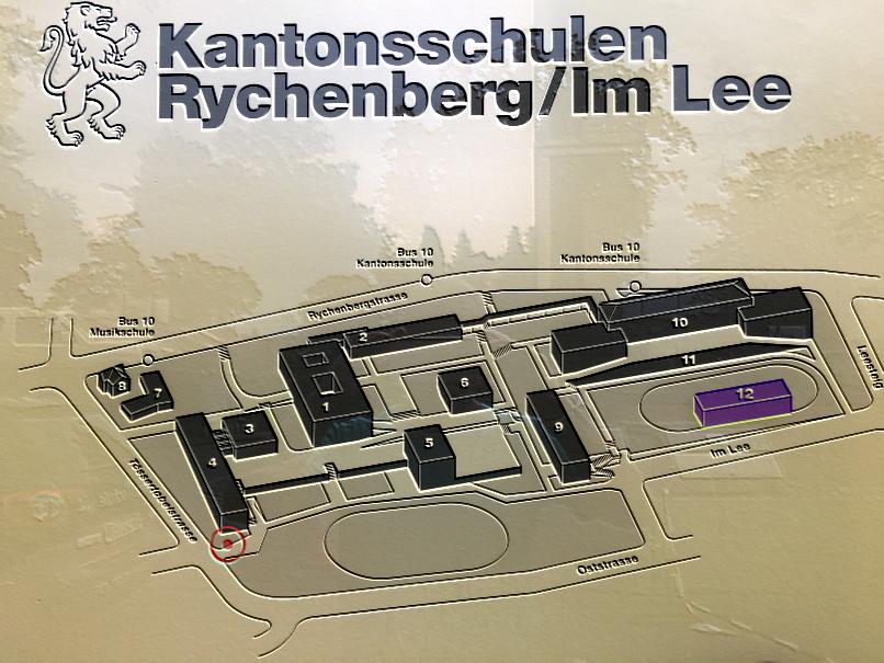 Standort Winterthur Kantonsschule Rychenberg